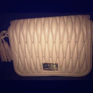 Bebe Taupe crossover bag